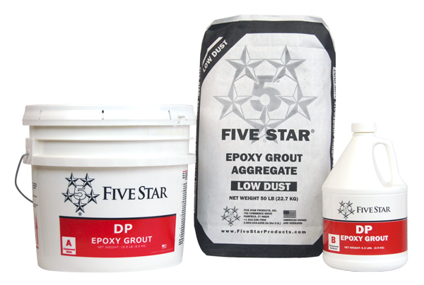 Five Star DP Epoxy Grout