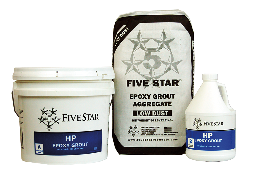 Five Star HP Epoxy Grout Kit